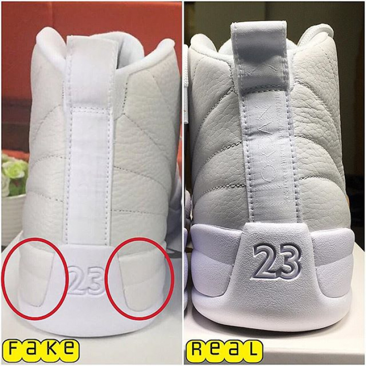 hot sale online 16b6d 7099a Real vs. Fake: Air Jordan 12 OVO Edition